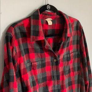 Women's Plus Crosscut Wicking Flannel Shirt